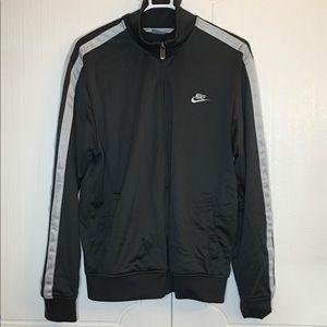 Vintage Nike classic track jacket dark grey/silver